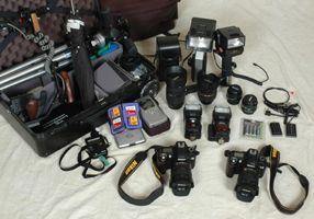 utah wedding photographer equipment